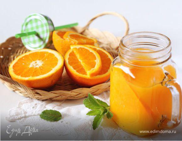 Апельсиновый сок свежевыжатый