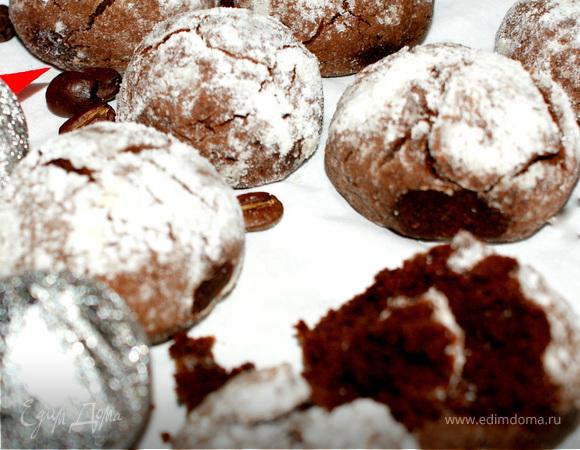 Шоколадные морщинки-трещинки :)