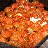 В духовке сушонные помидоры