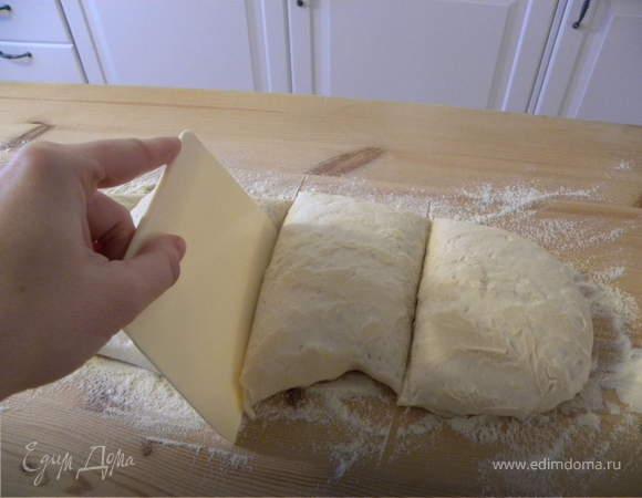 """Итальянский белый хлеб """"Ciabatta"""""""