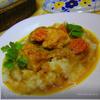Куриные грудки в цитрусово-медовом соусе