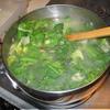 Суп из салата-эскарола