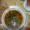 Густой чечевичный суп с овощами и бараниной