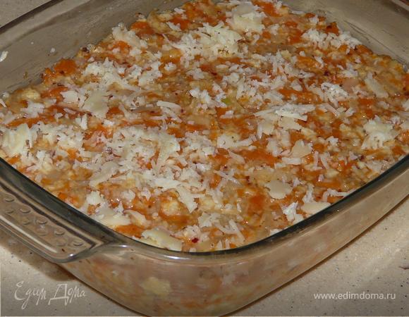 Запеканка из морковки