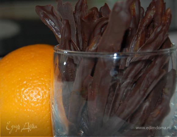 Шоколадно-апельсиновые конфеты.Предновогодняя репетиция.