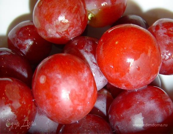 Виноград в сырно-ореховой шубке