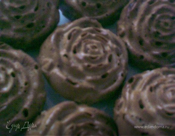 Кофейные маффины с черносливом