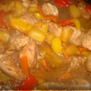 Индейка в кисло сладком соусе