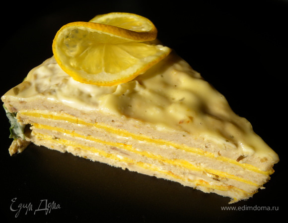 Торт из творога холодный фото 9