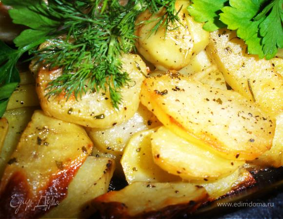 Пикантная курочка с картошкой