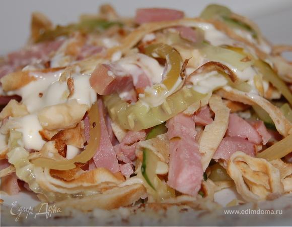Блинный салат (масленица на дворе):))))