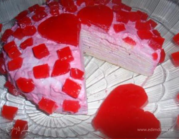 """Блинный торт """"Гламурная Масленица"""""""