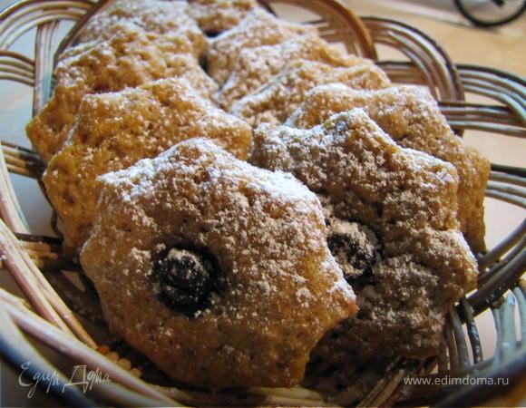 Печенье орехово-грейпфрутовые звездочки
