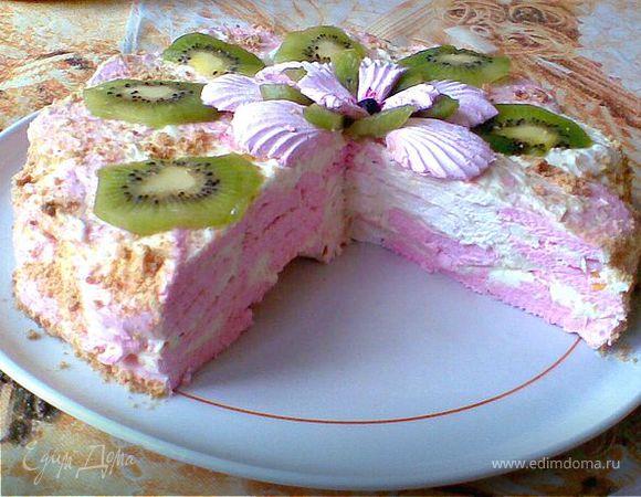 Фото рецепт зефирного торта