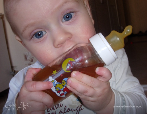 Детский узвар с финиками