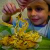 Хрустящие спагетти