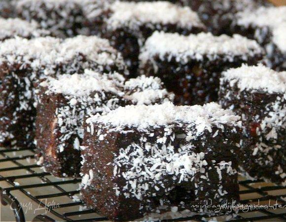 Ламингтон/Lamington - австралийское пирожное