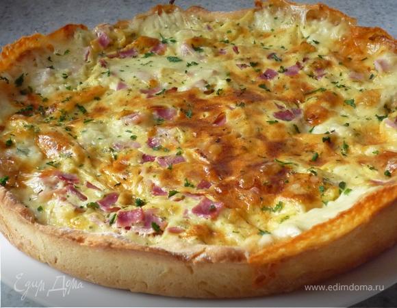 """""""Киш & Со."""" :-) Пикантный сырный пирог"""
