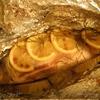 Запеченный судак с розмарином и лимонами