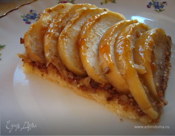 Пирог, опаленный пламенем