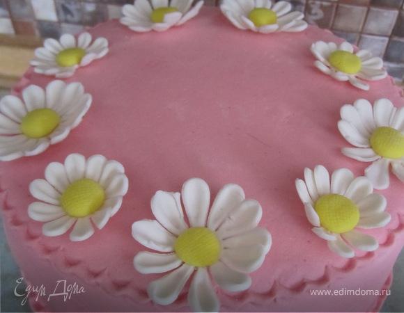 "Торт ""Бисквитно-сметанная вишня"""