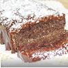 Миндально-кокосовый пирог с шоколадом
