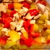 Овощное рагу с курочкой