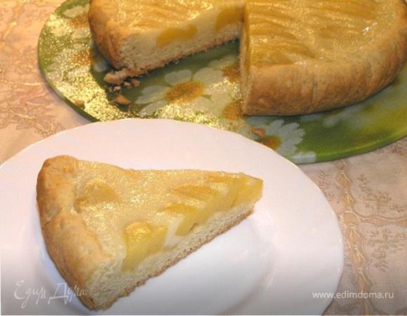 Пирог с манго