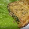 Мясная запеканка со шпинатом