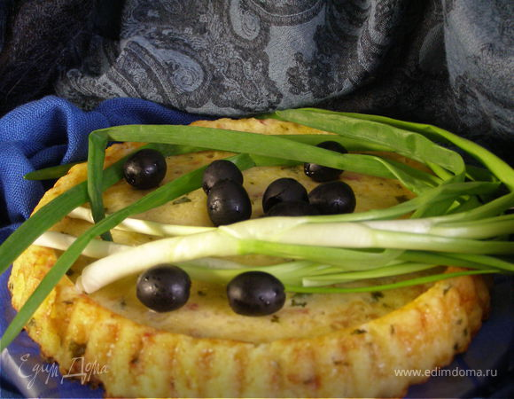 Кускус на укус (пирог с беконом)