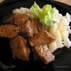 Пряная свинина с соусом терияки