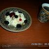 Творожно-ягодный десерт с майским медом