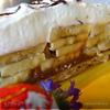 Банановый тортик с вареной сгущенкой