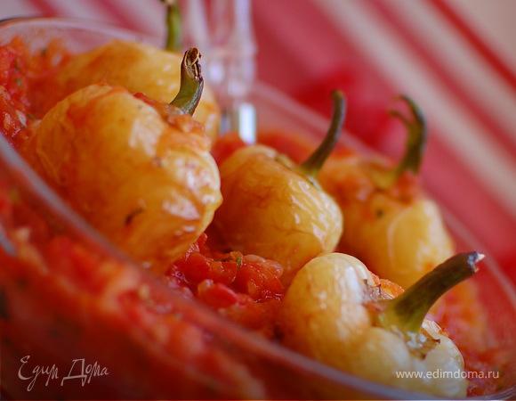 Перцы в томатной заправке.