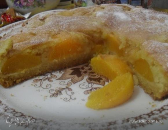 Тирольский абрикосовый пирог.