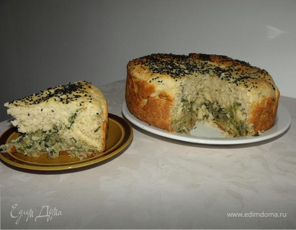 Пирог c капустой