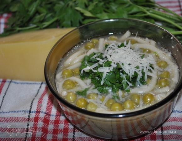 minestra di piselli di Almatura - Гороховый суп из Алматуры
