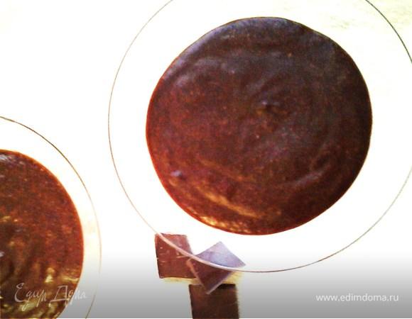 Mousse al cioccolato fondente