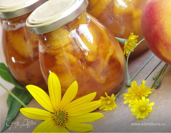 Персиковое варенье(2 варианта)