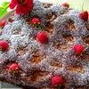 Шоколадный пирог с карамелью
