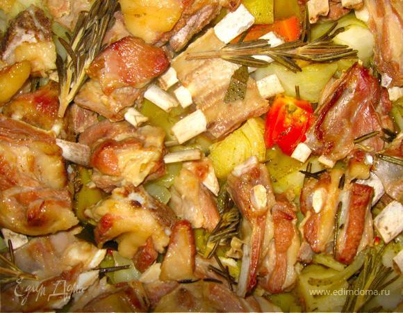 Вторые блюда овощей круп