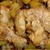 Курица с картофелем и черносливом запеченная в БАНКЕ.