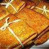 Блинные посылочки с печенью