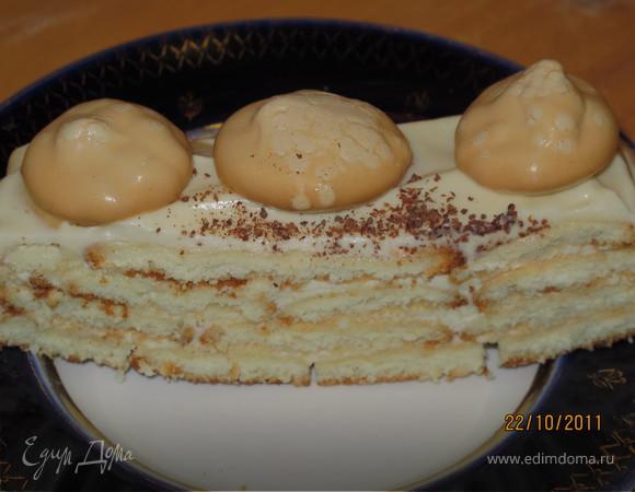 Сливочный тортик