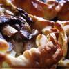 Слоеные пирожки с рыбой, грибами и рисом