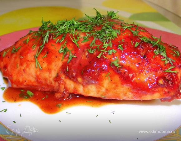 Куриное филе в медовом соусе
