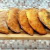 Сalzone (кальцоне) с грибами, помидорами и сыром