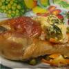 Куриные ножки на овощной подушечке