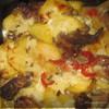 Запеченные ребрышки в сметанном соусе