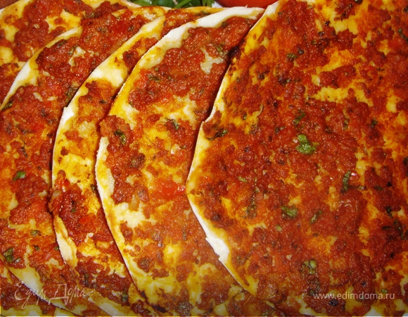 Ломаджо - Армянские мясные лепешки